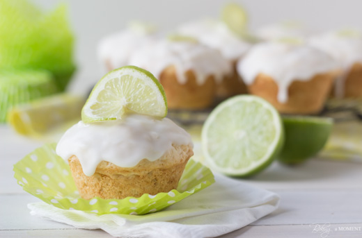 Coconut Lime Glazed Muffins Recipe