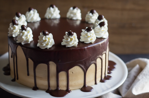 Chocolate And Mocha Cake
