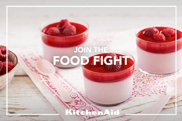 Raspberry, Coconut & Cardamom Panna Cotta Recipe