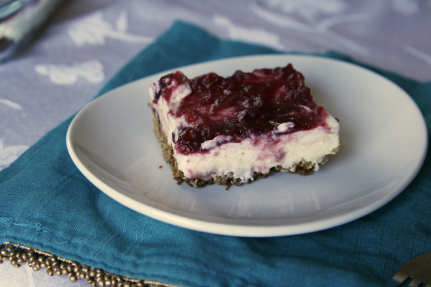 Cranberry Cheesecake Bars Recipe