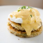 Fried Green Tomato Eggs Benedict Recipe