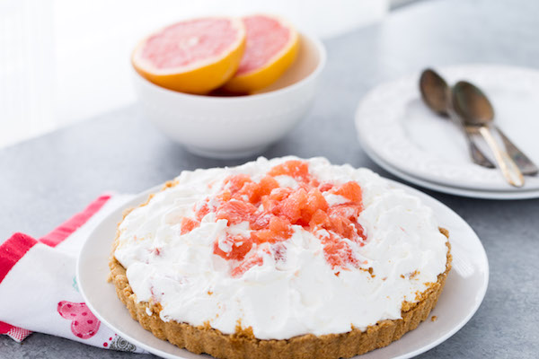 Grapefruit Greek Yogurt Tart Recipe