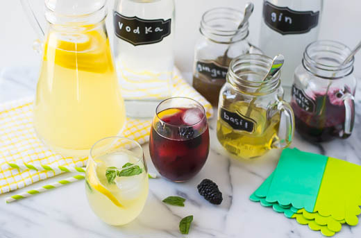 Grown-Up Lemonade Bar Recipe