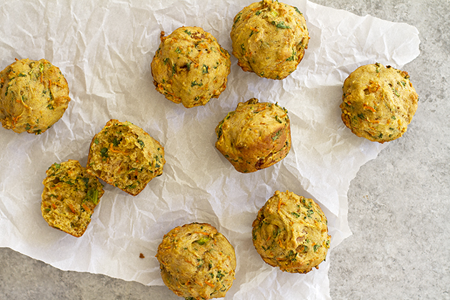 Carrot Kale Muffins