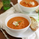Roasted Summer Vegetable Soup Recipe