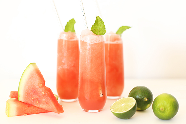 Watermelon + Cucumber Summer Slushie
