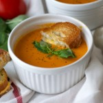 Spicy Tomato Bisque with Mini Grilled Cheese Recipe