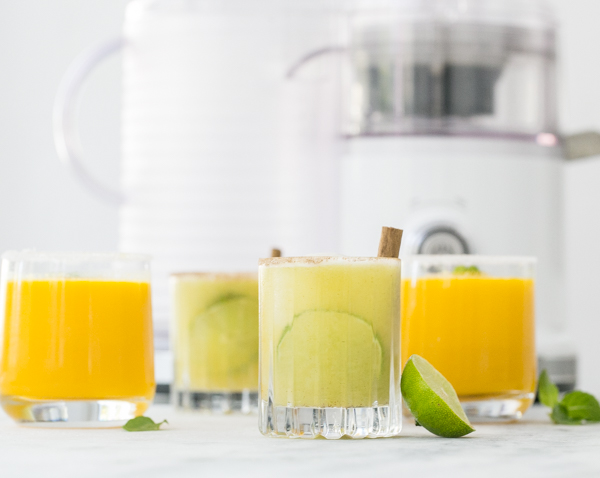 Freshly Squeezed Juice Cocktail (and Mocktails!)