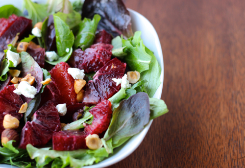 Blood Orange And Baby Greens Recipes — Dishmaps