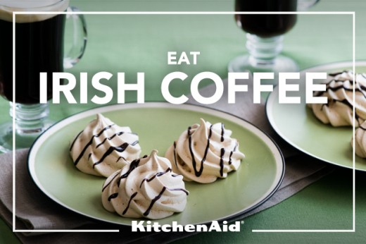 Irish Coffee Meringues Recipe