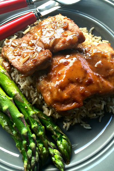 Baked Chai Teriyaki Chicken