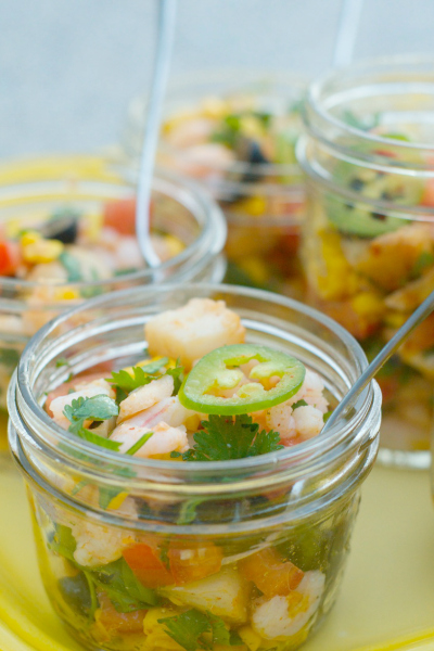 ... scallops, and rockfish — to make a delicious Mixed Seafood Ceviche