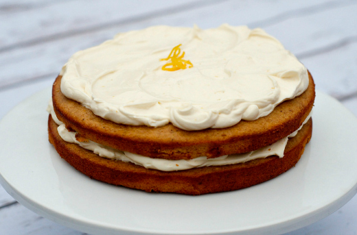 Banana White Chocolate Lemon Cake