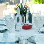 Setting a Summer Dinner Party Table