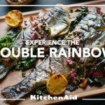 Grilled Rainbow Trout and Rainbow Chard with Citrus Caper Relish Recipe