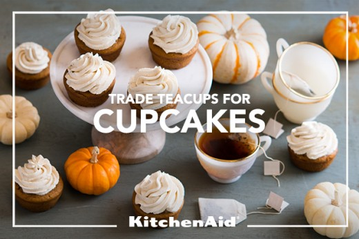 Pumpkin Chai Holiday Cupcakes Recipe