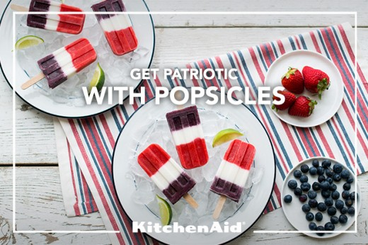 Red White Blue Popsicles Recipe