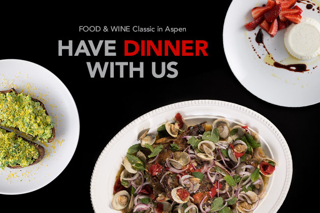 Have Dinner With Us!