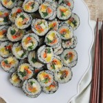 Entertaining with Kimbap Recipe