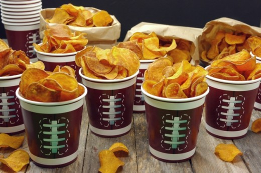 Tailgate Homemade Sweet Potato Chips Recipe