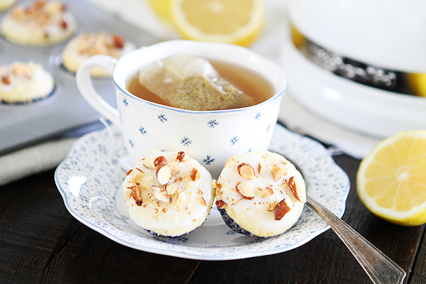 Mini Lemon Almond Muffins Recipe