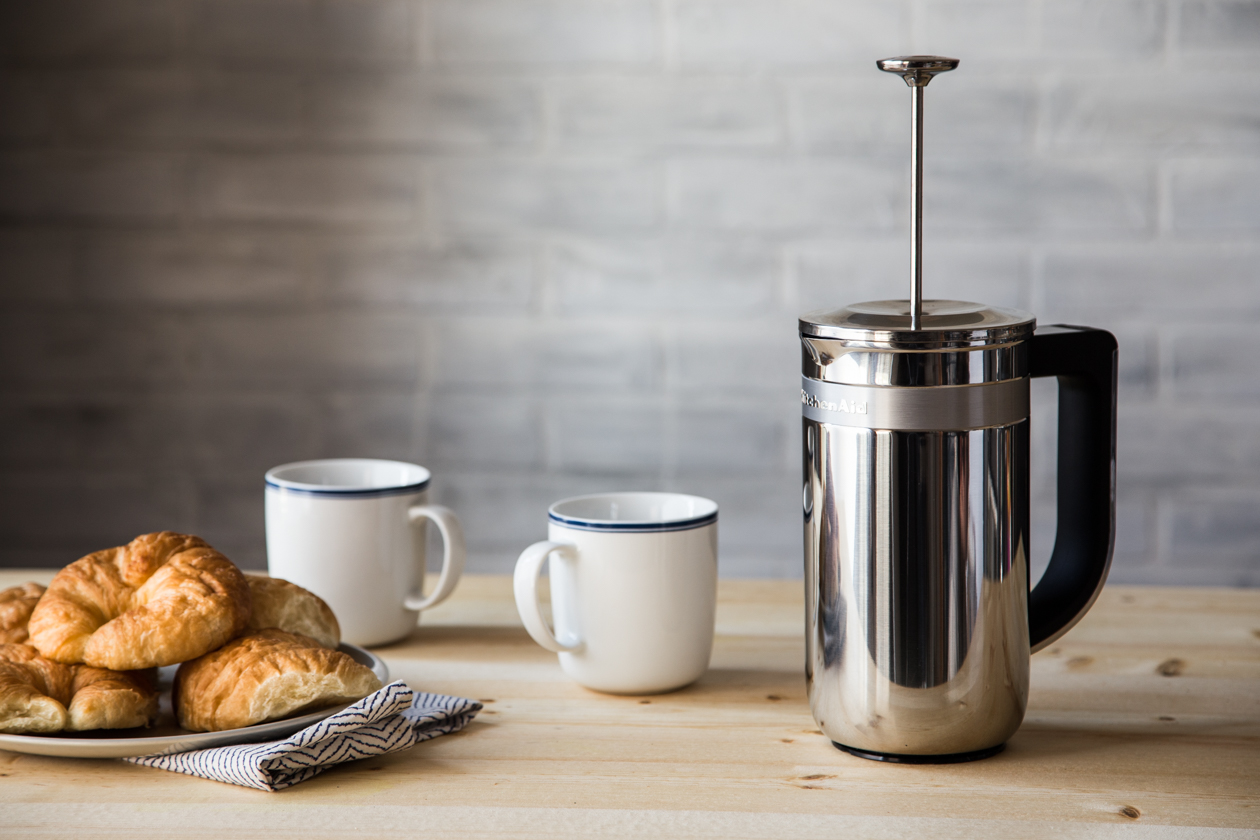 Kitchenaid Coffee Maker New : The New KitchenAid Precision Press Coffee Maker The Kitchenthusiast