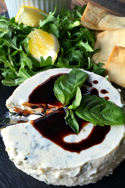 Savory Panna Cotta with Basil Recipe