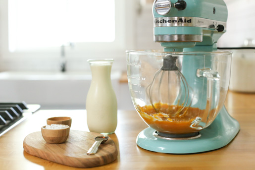 High Quality Vanilla Ice Cream Recipe Perfect Kitchen Aid Maker Kitchenaid Blue .