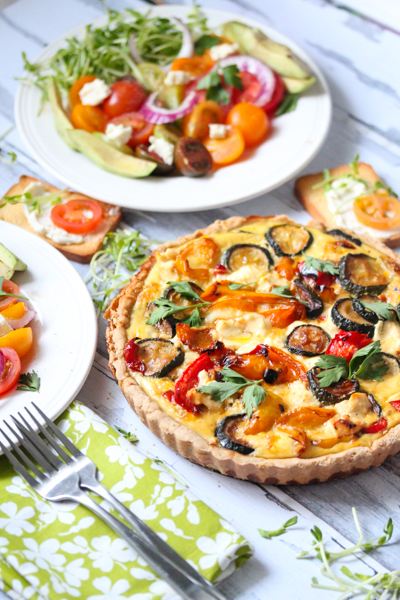 Vegetable Quiche Recipe