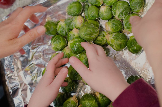 Roasted Brussels Sprouts Salad Recipe