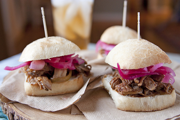 Barbecue Pulled Pork Sliders Recipe