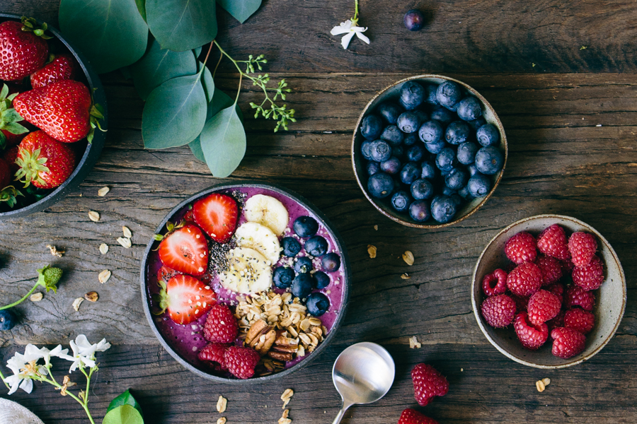 Antioxidant Berry Smoothie Bowl
