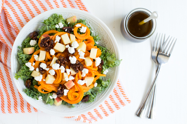 Spiralized Sweet Potato and Kale Salad Final