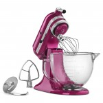 KitchenAid® Artisan® Design Series 5-Quart Tilt-Head Stand Mixer with Glass Bowl