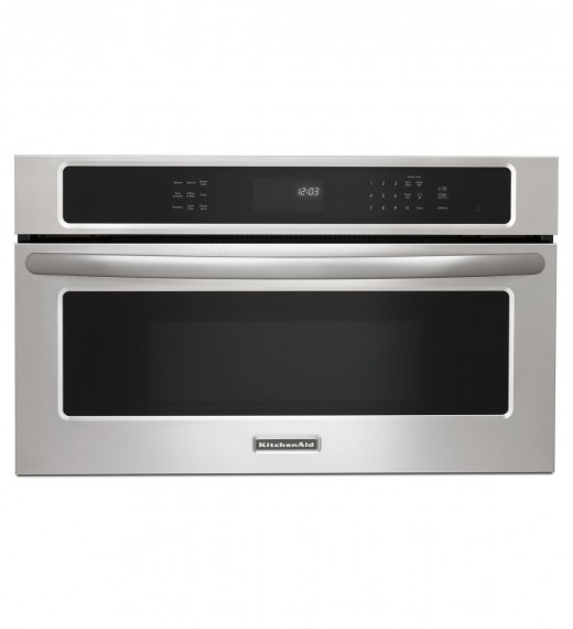 kitchenaid 30 inch convection built in microwave the