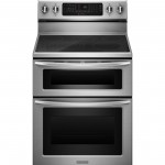 KitchenAid® Electric Freestanding Double Oven Range