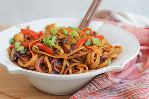 Vegetable Lo Mein - The Kitchenthusiast