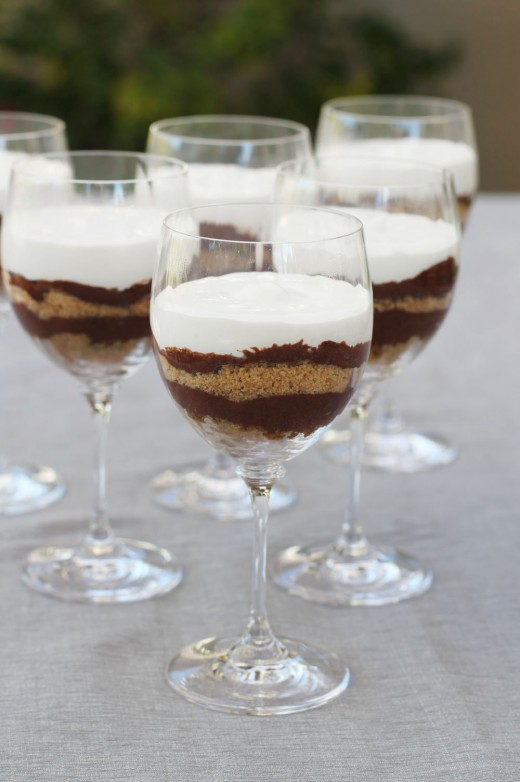 Chocolate Mousse Parfaits Recipe