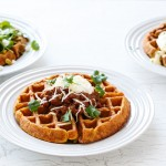 Savory Cornmeal Waffles Recipe