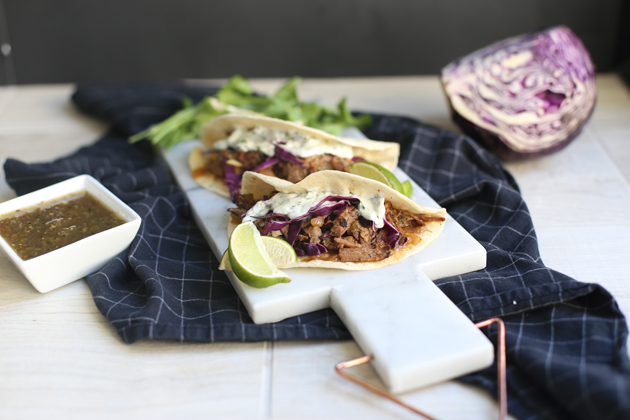 Slow Cooker Chipotle Short Rib Tacos