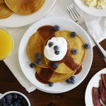 Blender Pumpkin Pancakes Recipe
