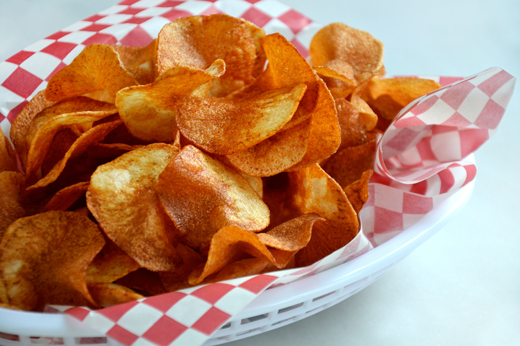 ... of hot crispy homemade potato chips the salty crunch hits a taste