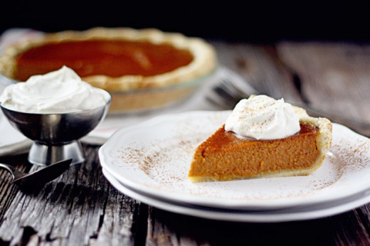 Sweet Potato Pie with Maple Bourbon Whipped Cream Recipe