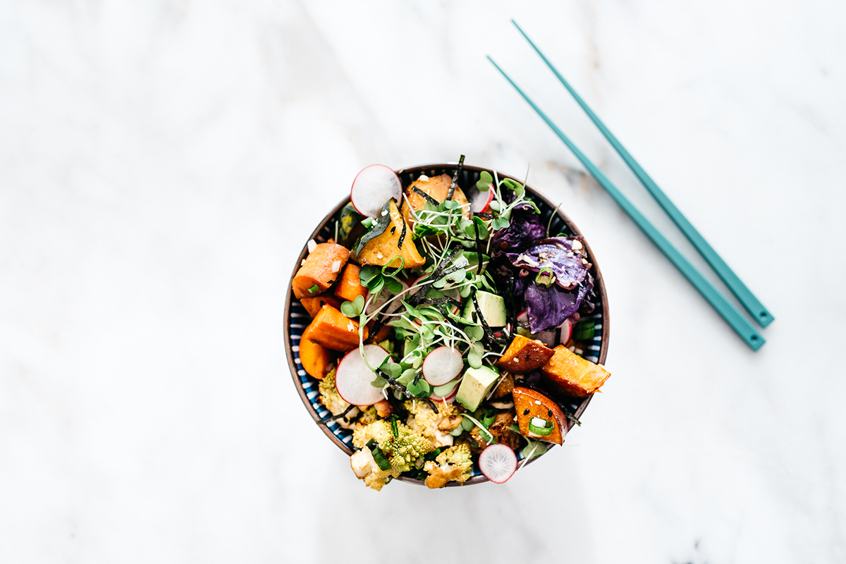 Roasted Winter Vegeteble Bowls